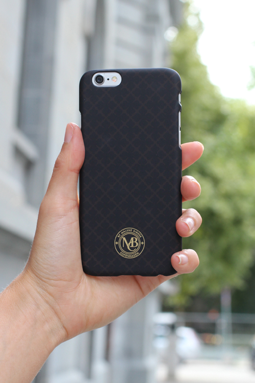 Brunmønstret IPhone cover By malene Birger 56377046 pamsy 6 Cred: carma