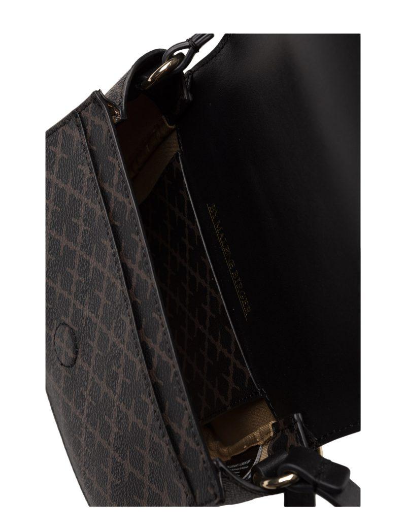 Liten brunmønstret crossover veske By Malene Birger 61203055 crossby