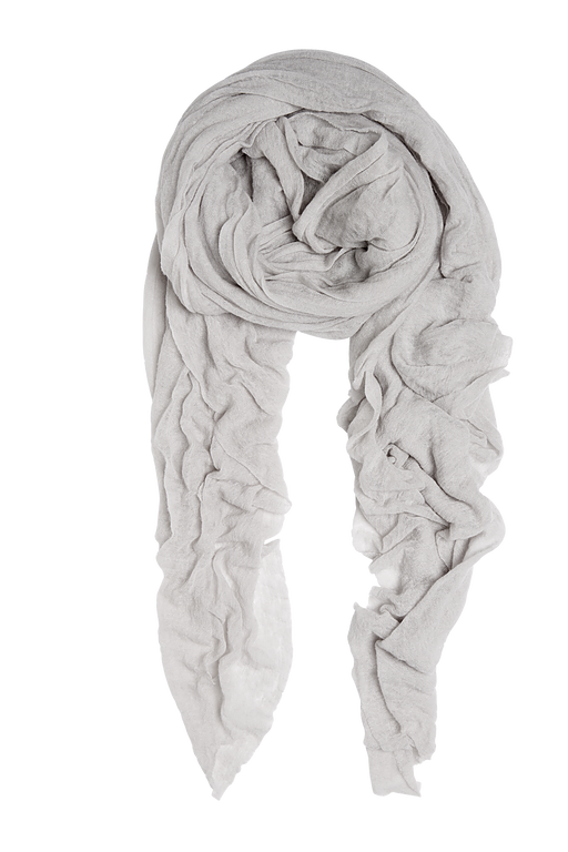 Winter white Luxury Natura Cashmere - luxury Fantastisk skjerf i 100% cashmere med rå kant. Str.160x160cm Made in Italy