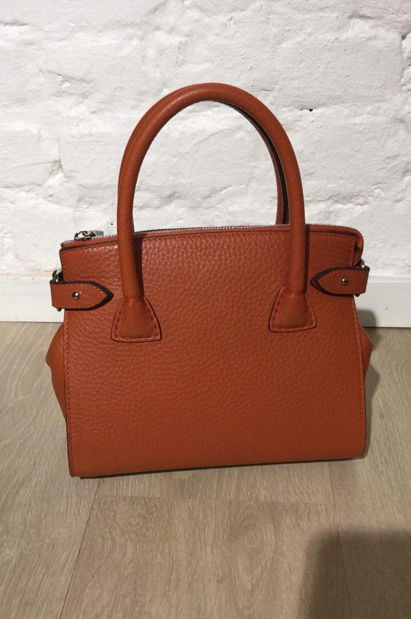 Autumn orange 'tiny shopper' Decadent Copenhagen - 592 Adele tiny shopper