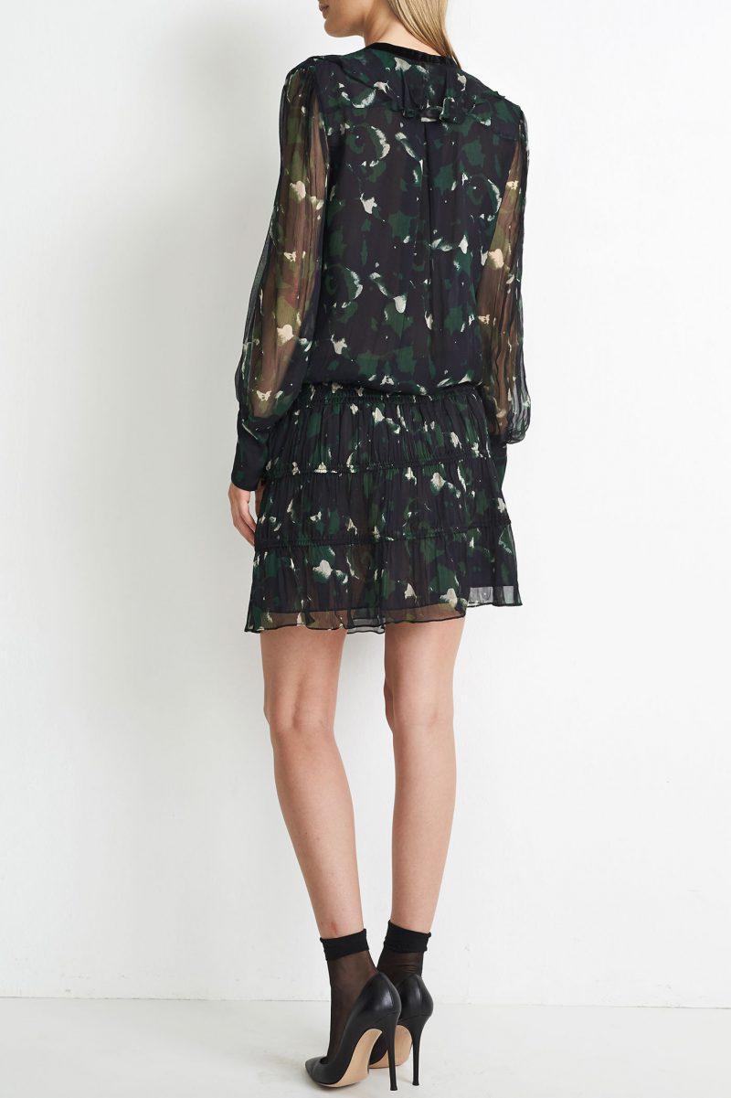 Navygrønnmønstret kjole Hunkydory - 19 499 Ada dress