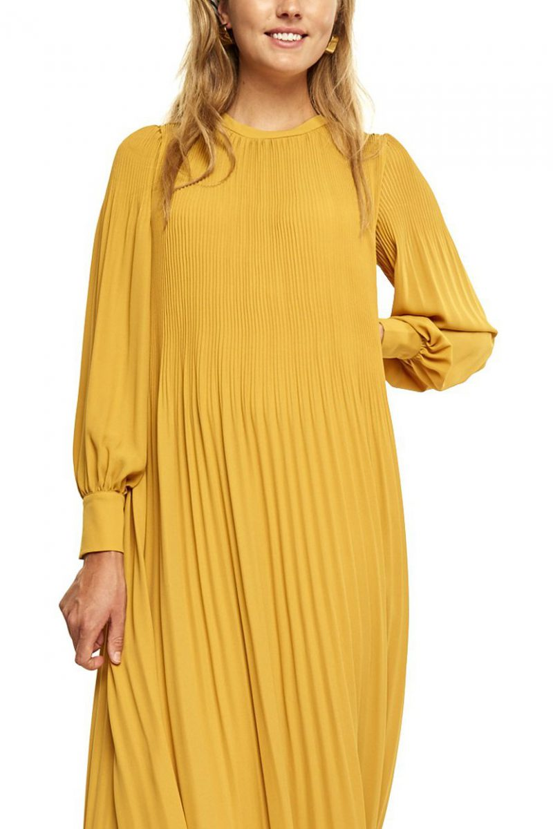 Sjøgrønn eller solgul kjole med mansjetter Cathrine Hammel - 617.217 miami dress with cuffs