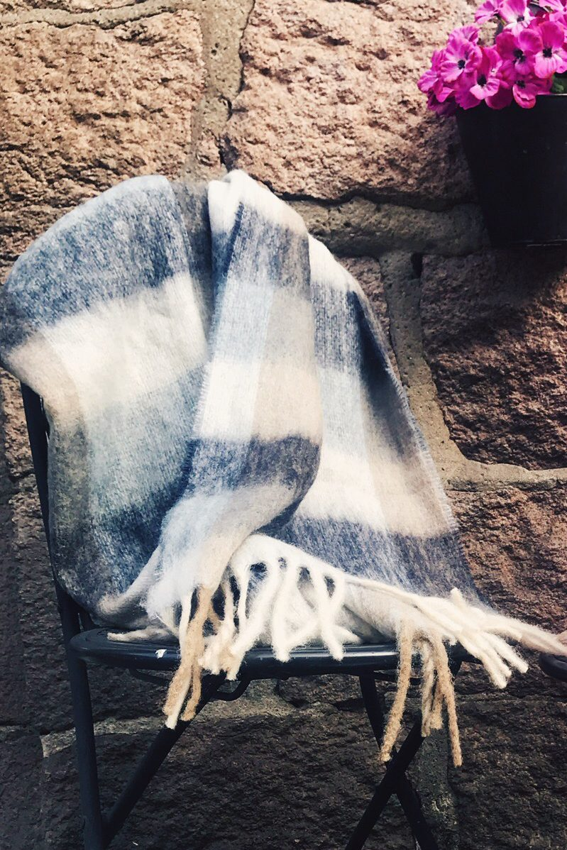 Ullmiks skjerf Becksöndergaard - 694001 michelia